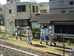 列車見張警備2